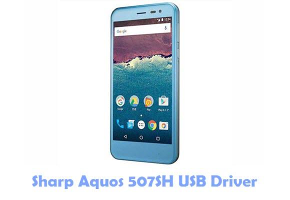 Download Sharp Aquos 507SH USB Driver