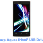 Sharp Aquos SH80F USB Driver