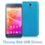 Timmy E86 USB Driver