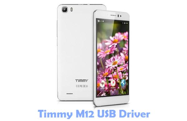 Timmy M12 USB Driver