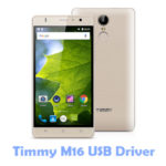 Download Timmy M16 USB Driver
