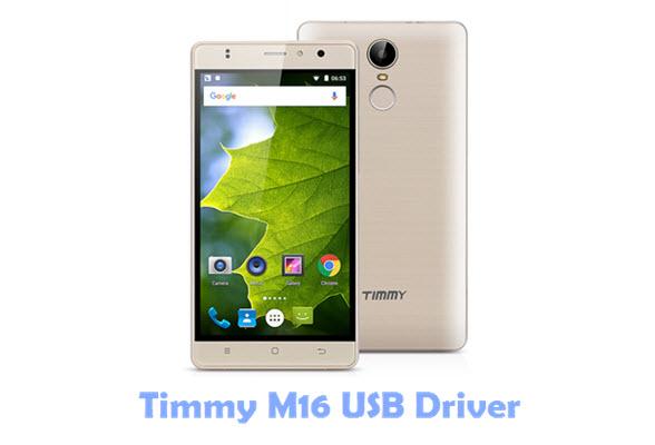 Timmy M16 USB Driver