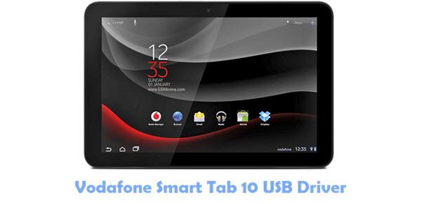 Download Vodafone Smart Tab 10 USB Driver