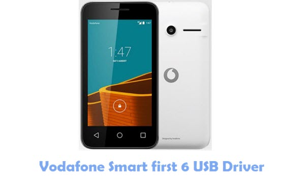 Vodafone Smart first 6 USB Driver