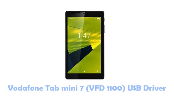 Vodafone Tab mini 7 (VFD 1100) USB Driver