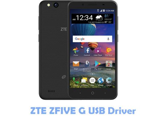 ZTE ZFIVE G USB Driver