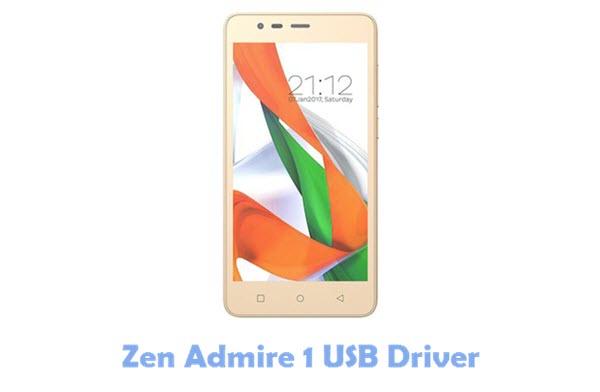 Zen Admire 1 USB Driver