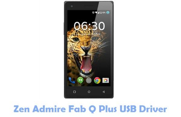 Zen Admire Fab Q Plus USB Driver