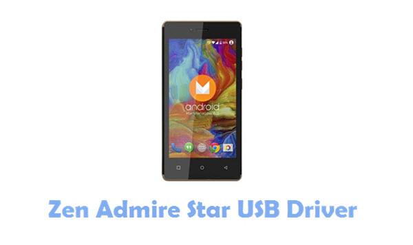 Zen Admire Star USB Driver