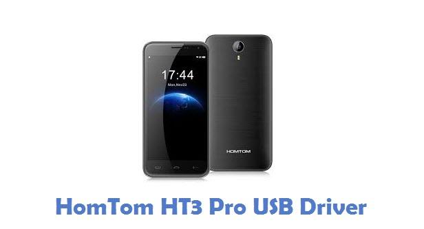 HomTom HT3 Pro USB Driver
