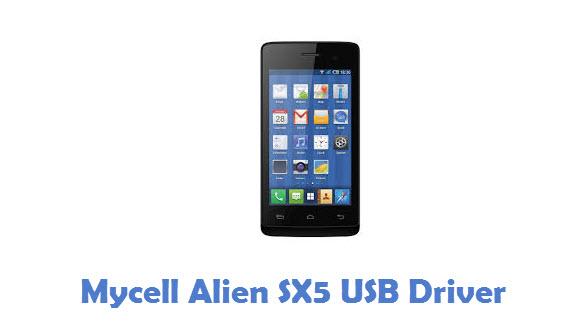 Mycell Alien SX5 USB Driver