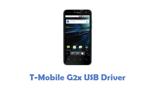 T-Mobile G2x USB Driver