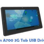Zen A700 3G Tab USB Driver