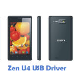 Zen U4 USB Driver
