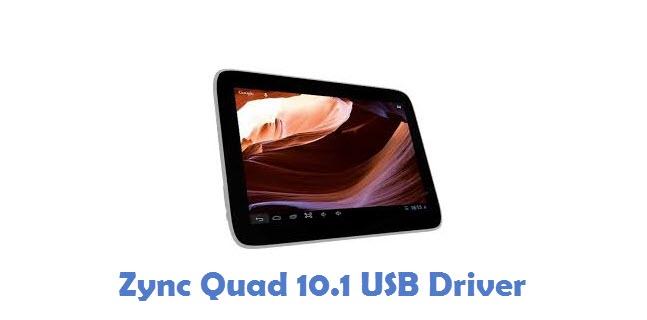 Zync Quad 10.1 USB Driver
