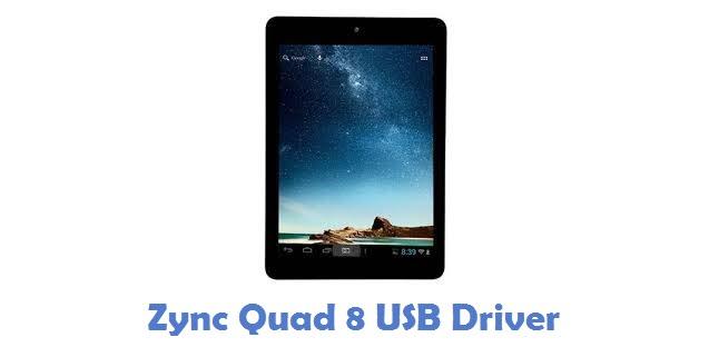 Zync Quad 8 USB Driver
