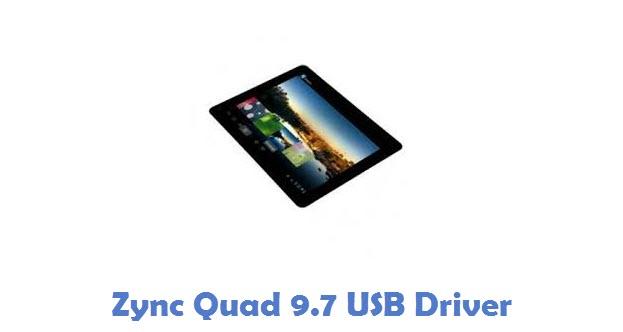 Zync Quad 9.7 USB Driver