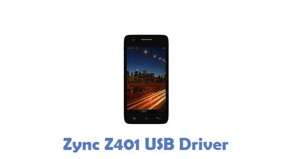Zync Z401 USB Driver