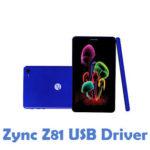 Zync Z81 USB Driver