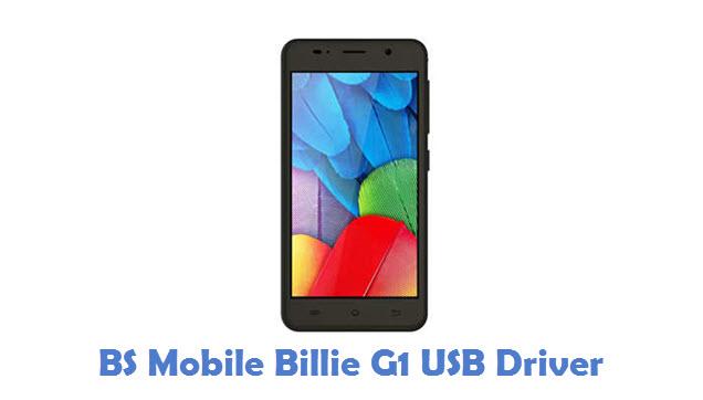 BS Mobile Billie G1 USB Driver