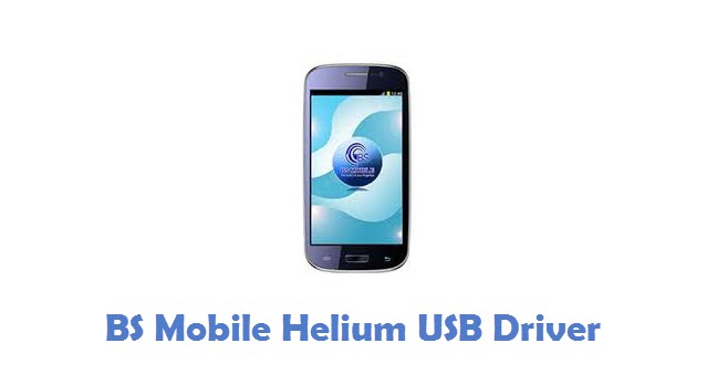 BS Mobile Helium USB Driver