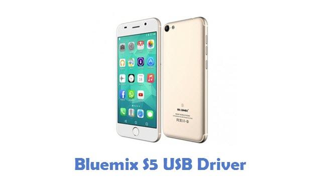 Bluemix S5 USB Driver
