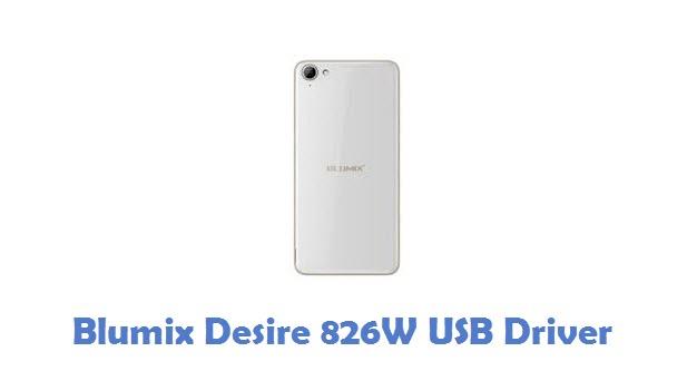 Blumix Desire 826W USB Driver