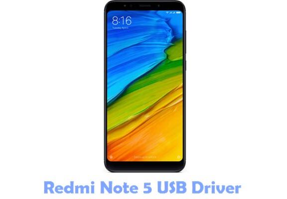 Download Redmi Note 5 USB Driver