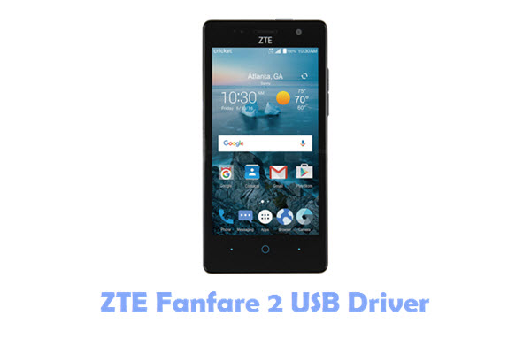 Download ZTE Fanfare 2 USB Driver