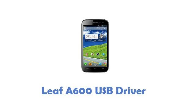 Leaf A600 USB Driver