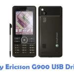 Sony Ericsson G900 USB Driver