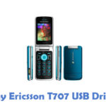 Sony Ericsson T707 USB Driver
