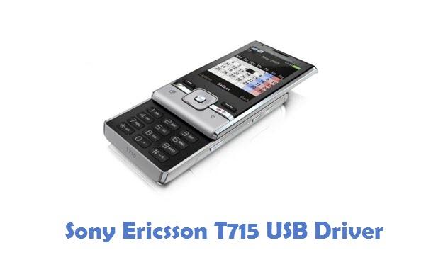 Sony Ericsson T715 USB Driver