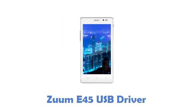 Zuum E45 USB Driver