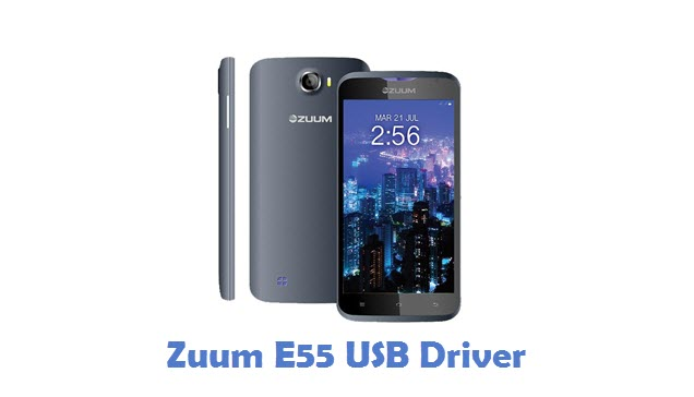 Zuum E55 USB Driver