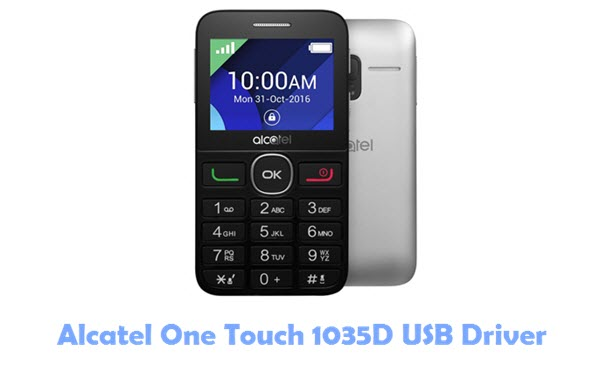 Download Alcatel One Touch 1035D USB Driver