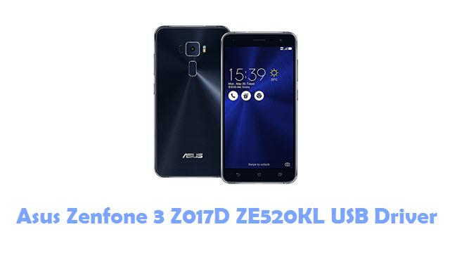 Download Asus Zenfone 3 Z017D ZE520KL USB Driver