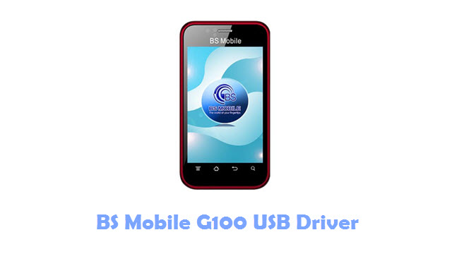 BS Mobile G100 USB Driver