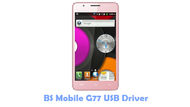 BS Mobile G77 USB Driver