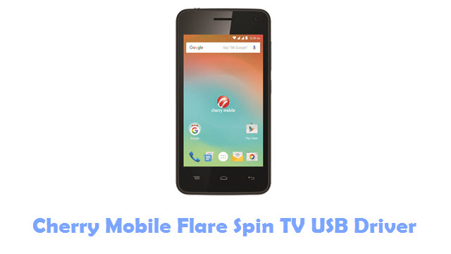 Cherry Mobile Flare Spin TV USB Driver