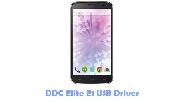 DDC Elite E1 USB Driver