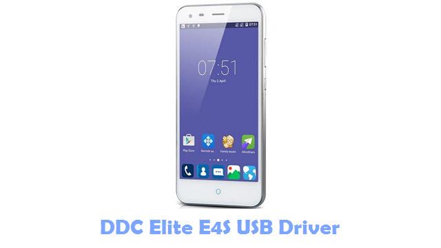 DDC Elite E4S USB Driver