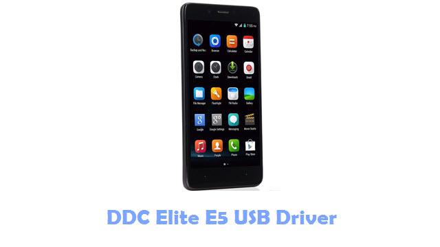 DDC Elite E5 USB Driver