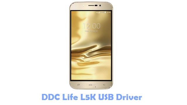DDC Life L5K USB Driver