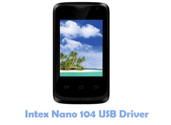 Intex Nano 104 USB Driver