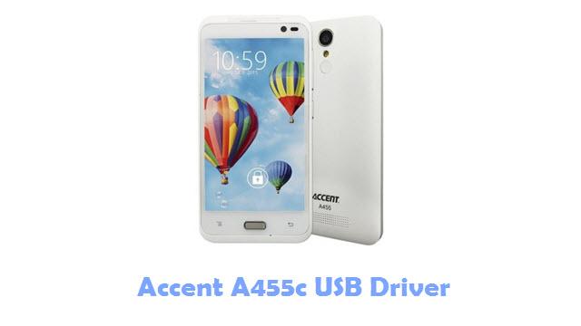 Accent A455c USB Driver
