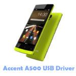 Accent A500 USB Driver