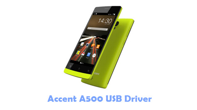 Download Accent A500 USB Driver