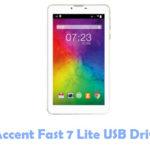 Accent Fast 7 Lite USB Driver