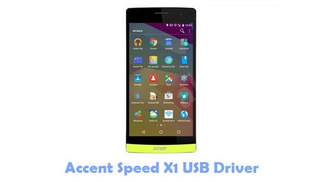 Accent Speed X1 USB Driver